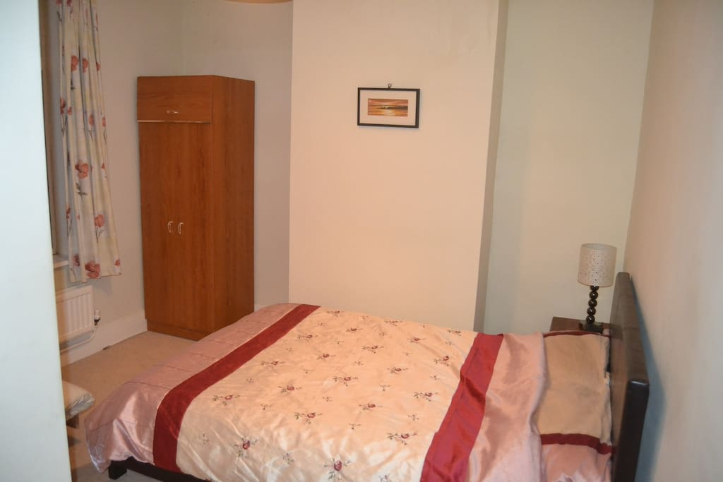 Simple well presented double bed