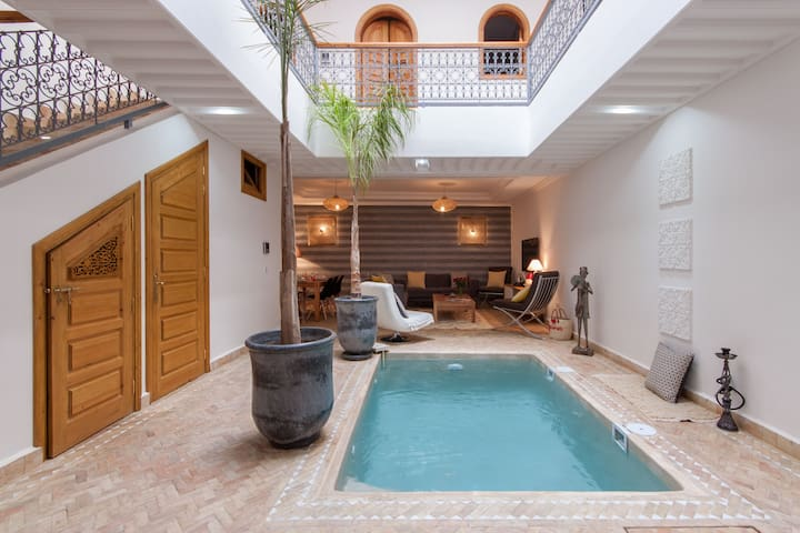 Riad Melilo with heated pool (in exclusivity) - Marrakesh - House