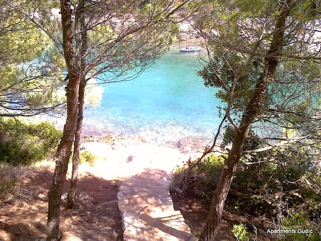 Apartment Hvar Basina-studio on beautiful location - Vrboska - Lejlighed