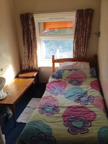 Single room, suitable for walker or cyclist