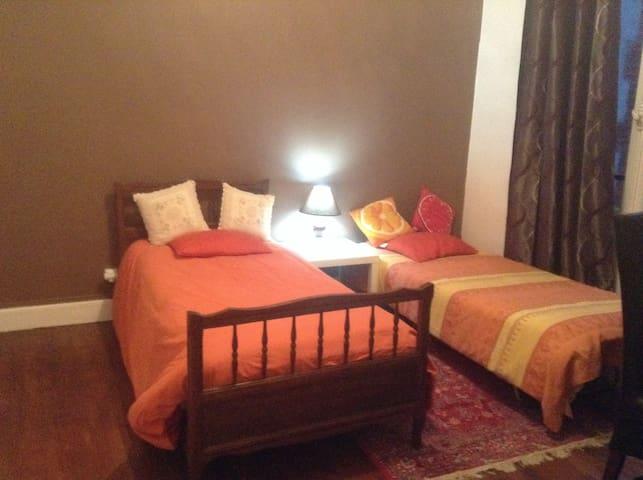 Chambre individuelle ou pour 2 personnes - Montluçon - Dom