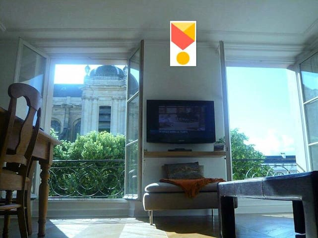 Superbe vue Cathédrale Saint Louis - Wersal - Apartament