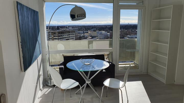 Furnished Apartment with panoramic view