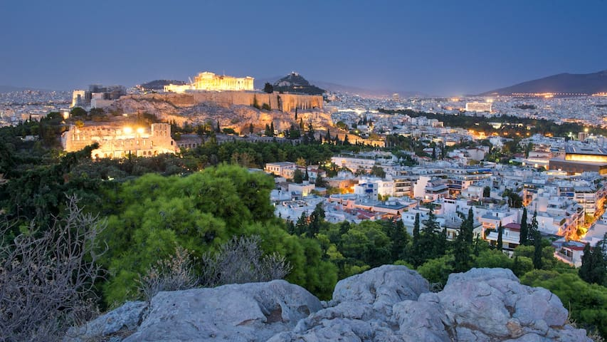 Small & Cute 15' walk to Acropolis! Great price! - Athens