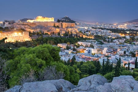 Small & Cute 15' walk to Acropolis! Great price! - Athens  - Apartamento