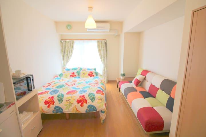 Cozy apartment * 1 min Asakusa Sensoji Tokyo! #A15