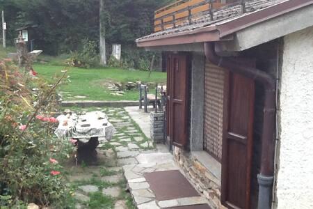 Villetta per famiglie e sportivi,giardino e camino - Giaveno