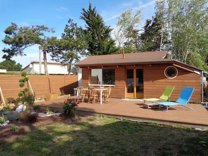 villa à 200 de la mer, face à espace naturel