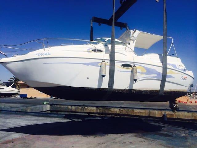 Barco Lema Gold II. Puerto Tomas Maestre. La Manga