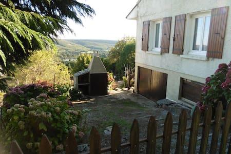 Maison avec jardin avec vue sur le lac - Pradelles-Cabardès - Casa