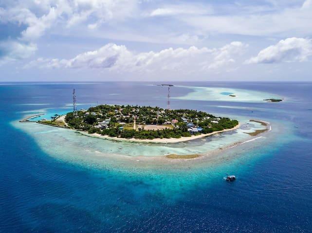 Rasdhoo Shallow Lagoon Maldives мелководная лагуна