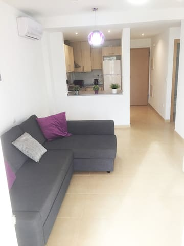 2 Bed, ground floor apartment, with large patio