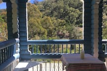 Verandah.....perfect for birdwatching, reading, chatting, or just hanging out.