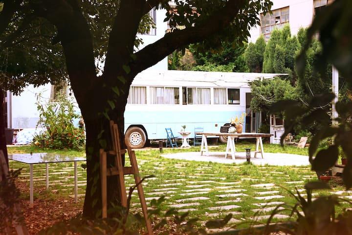 昆明金殿/农大/植物园/黑龙潭旁贝拉花园复古房车