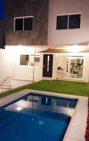 Hermosa casa para vacacionar en Morelos
