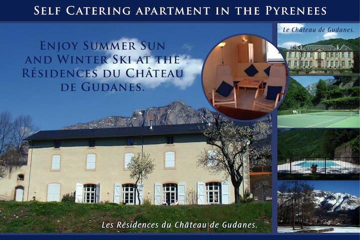 Les Residences du Chateau de Gudanes - Château-Verdun - Lägenhet