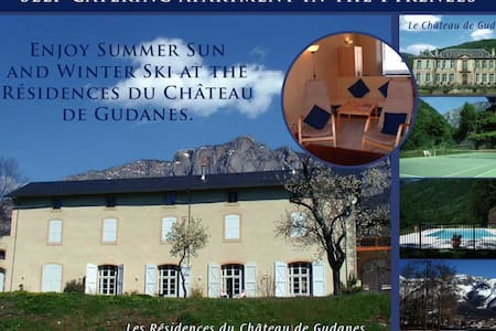 Les Residences du Chateau de Gudanes - Château-Verdun - Lejlighed