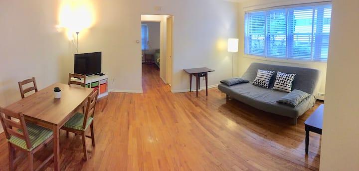 Entire Charming & Comfy 1 Bedroom Apt-near NYC!