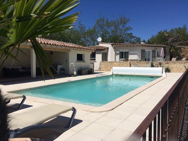 Maison au calme vue piscine - Limoux  - Ev