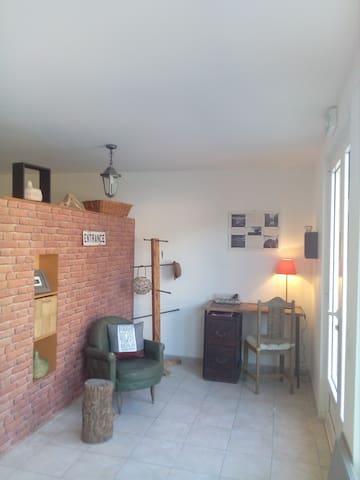 Mini loft, 42m2 idéalement situé pour 4 personnes - Morosaglia - Apartament