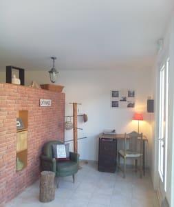 Mini loft, 42m2 idéalement situé pour 4 personnes - Morosaglia - Wohnung