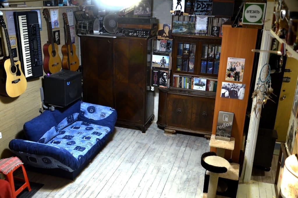 Комната с тремя спальными местами