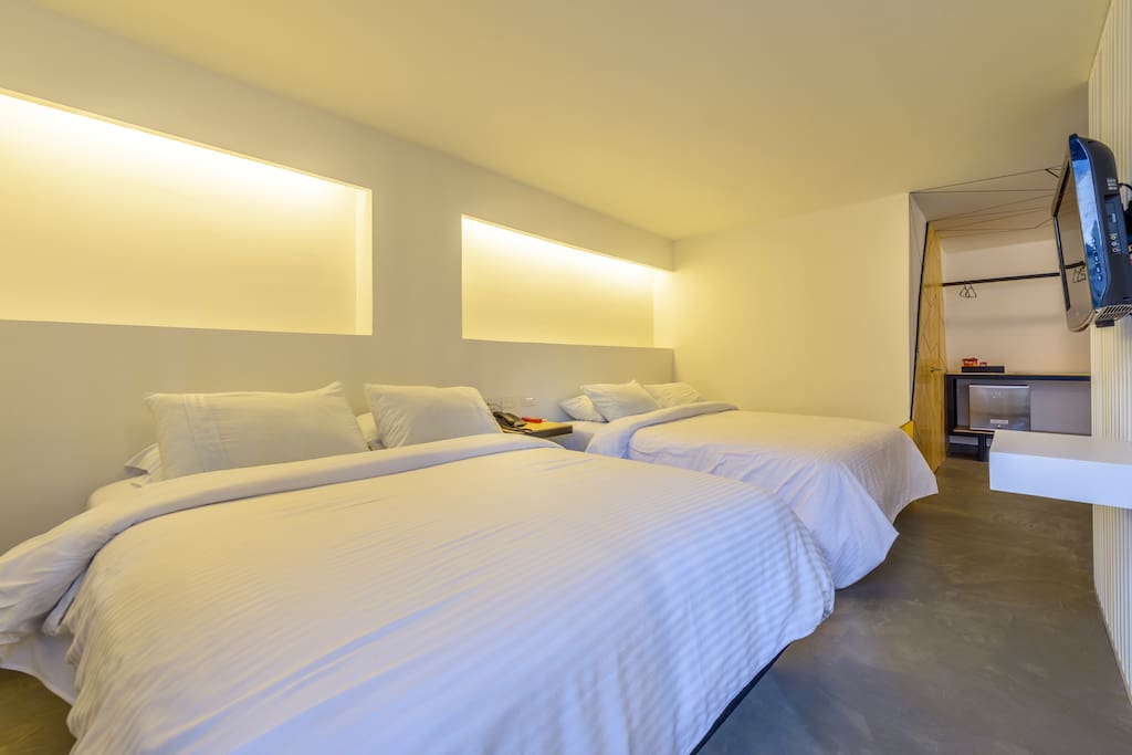 Deluxe Double room with 2 double bed