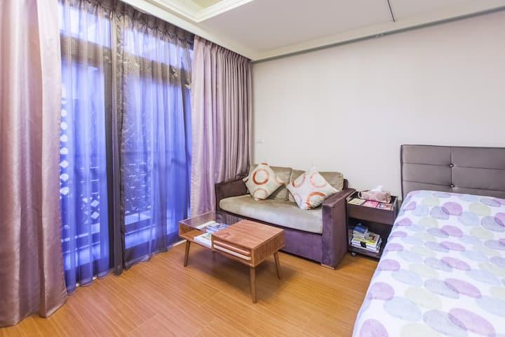 Near MRT & Night Market 1 酒店式溫馨套房