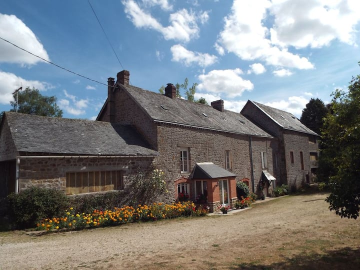 Watermill property alongside the river