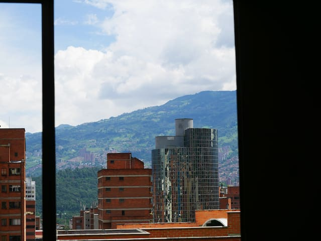 Medellín historical zone, center and the Town