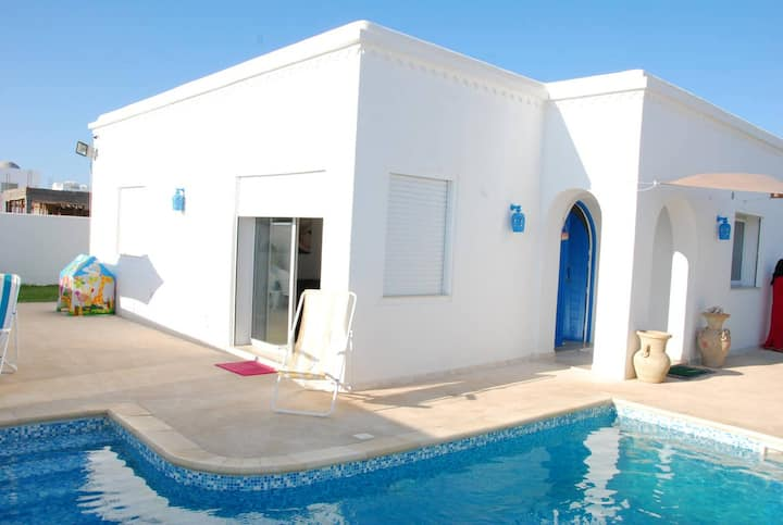 Villa with 3 bedrooms in Djerba, with private pool, enclosed garden and WiFi