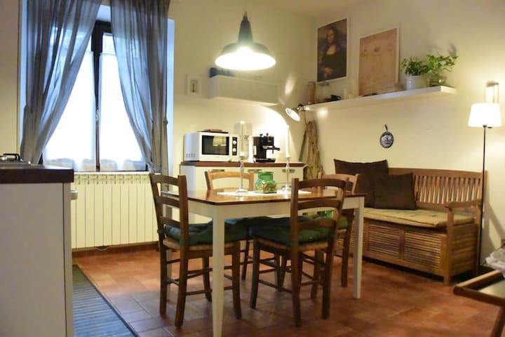 vino/natura/relax in colonica - Molino del Piano - Appartement