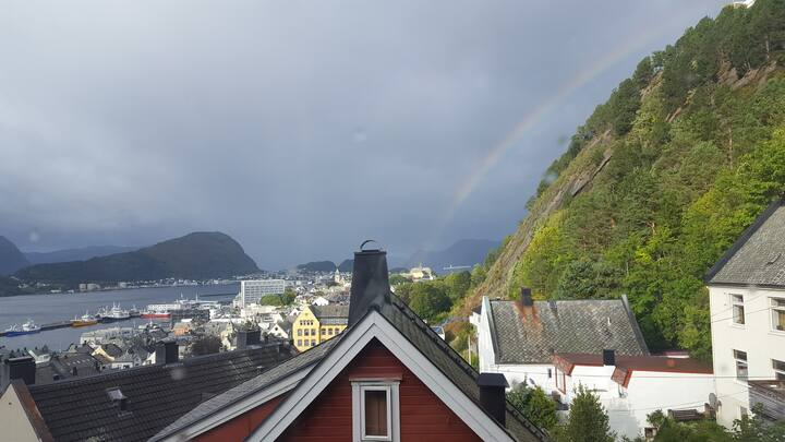 Close to Ålesund town - great view
