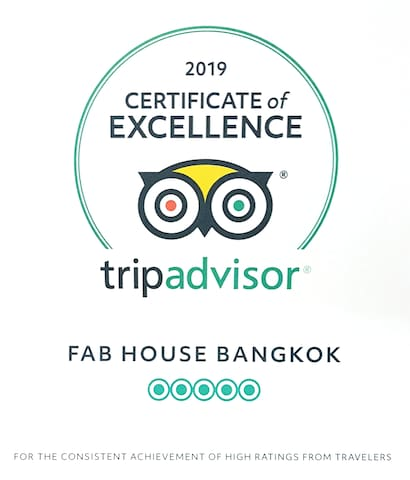 Certificate of Excellence 2019 from TripAdvisor