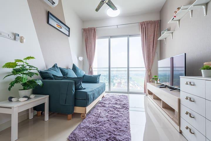 Desa Green 3 Bedrooms KLCC View