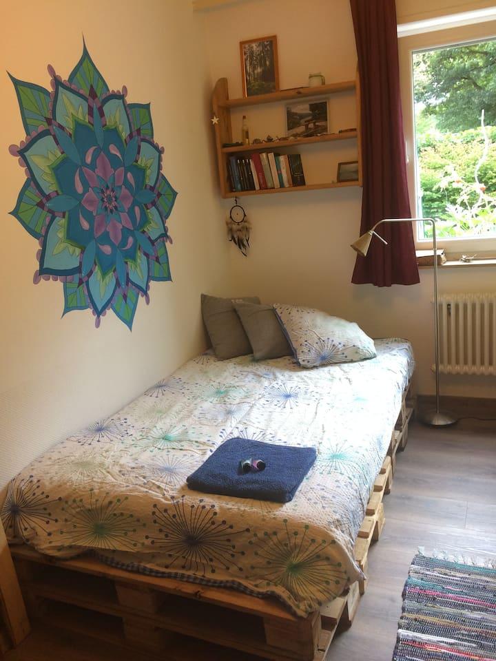 Gemütliches 12qm-Zimmer