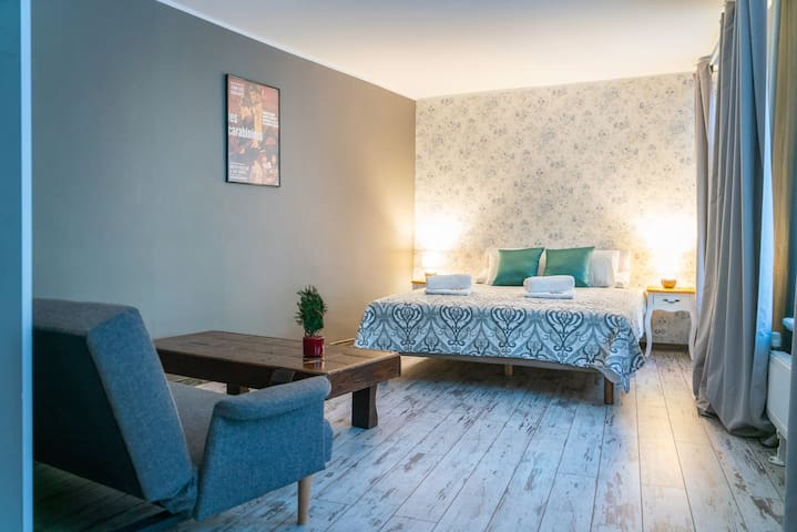 Spacious and bright superior double room