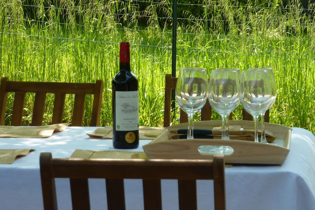 Appreciate a fine wine from the vines around Loubès & we will organise a wine tasting at the vineyard just for you.