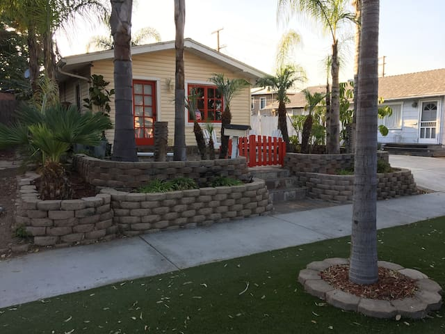 """Beach Bungalow with an """"Everyday Resort"""" feel."""