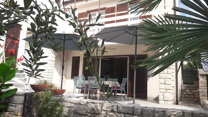 House Samsa in Rovinj-Borik 250 m from the beach