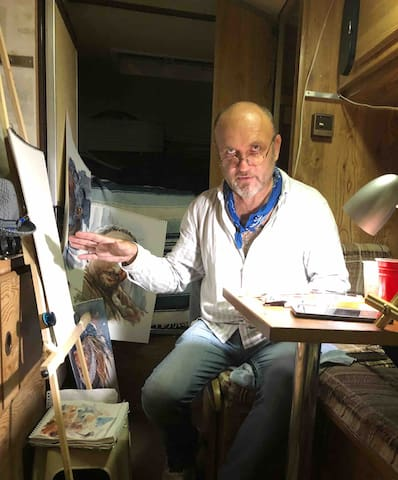 """Art Camper"" Study with Artist Vincent Scurr!"