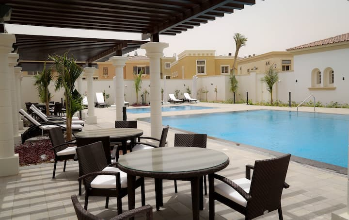 Waha 1 bedroom Apt. - King Abdullah Economic City