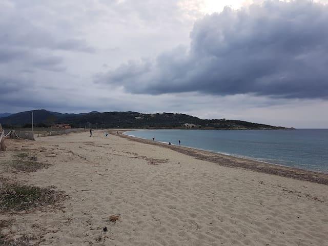 La mer vers l'ouest