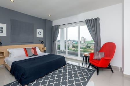 City Suites at THE Gallery, Tetteh Quarshie - Accra - Mobilyalı daire