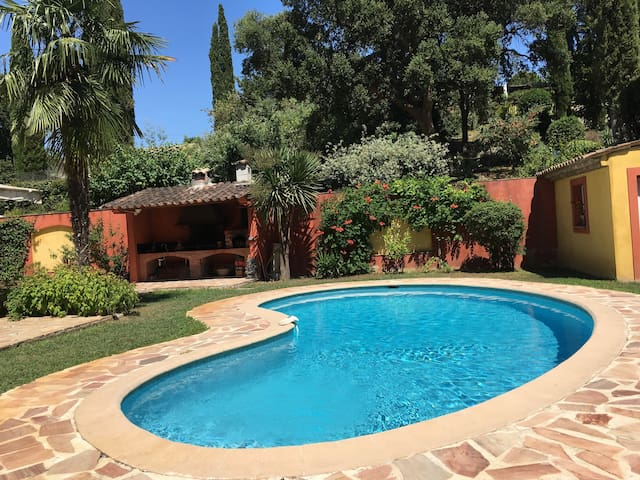 L' Olivier appartment, pool aircond - Biot - Daire