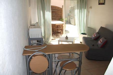 Studio indépendant 2 à 4 couchages - Barbentane - Apartmen
