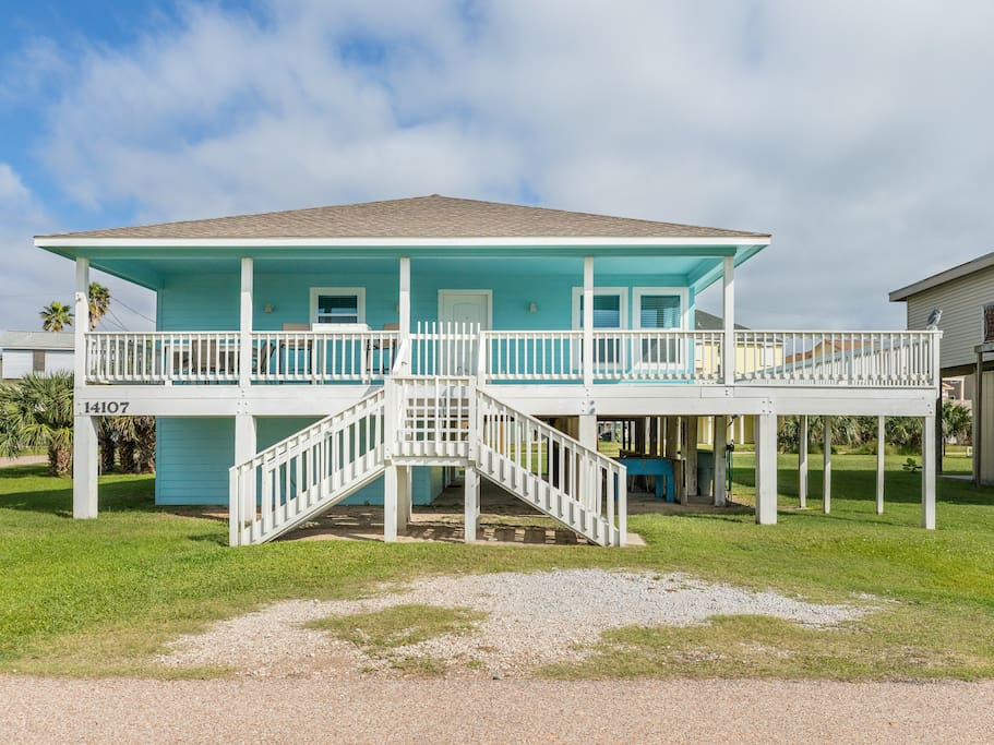This charming beach house is professionally managed by TurnKey Vacation Rentals.