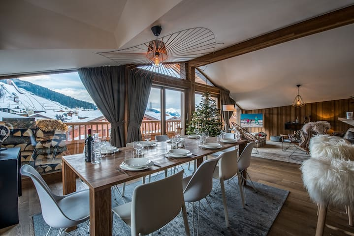 Superb new chalet in the authentic village of Praz