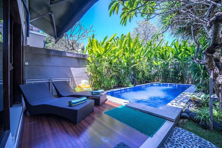 Cantik, 2 Bed Villa, Oasis in Legian/Kuta