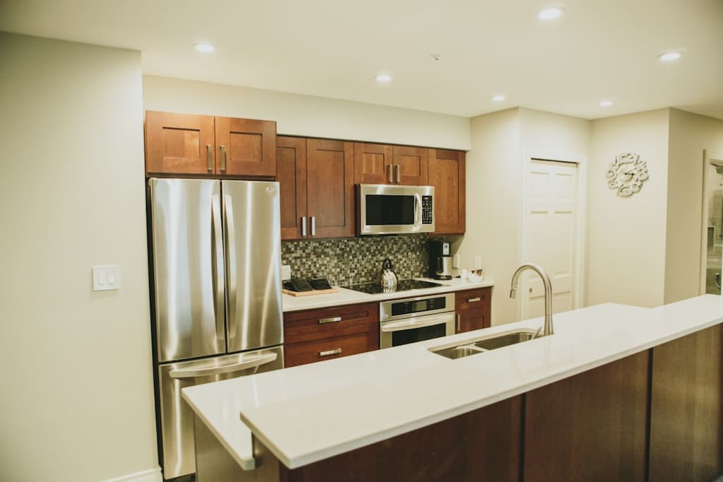 High Quality finishing throughout, stainless steel appliances